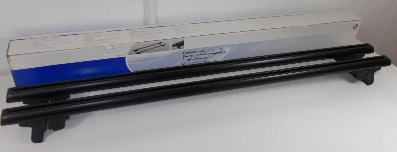 Genuine Vw Sharan Seat Alhambra Roof Bars Set For Models